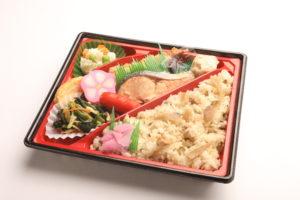 焼き魚幕の内弁当(シャケ) 1,000円