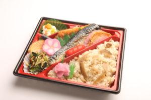 焼き魚幕の内弁当(サバ) 1,000円