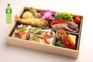 天ぷらとローストビーフ和膳 2,580円